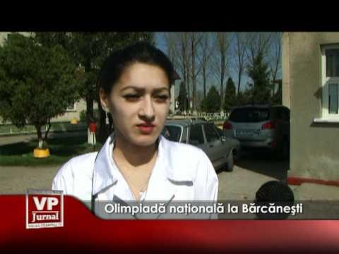 Olimpiadă naţională la Bărcăneşti