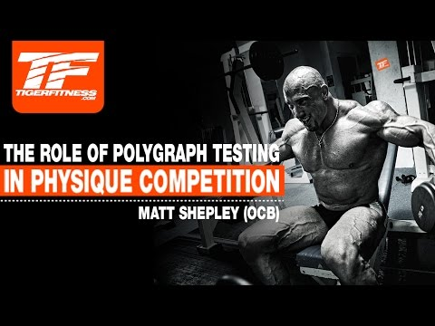 Polygraph Is The BEST METHOD Of Drug Testing For Natural Bodybuilding
