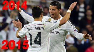 Video Los 9 goles de Chicharito con el Real Madrid 2014/2015 1080i MP3, 3GP, MP4, WEBM, AVI, FLV Maret 2019