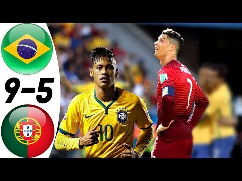 Brazil Vs Portugal 9:5 - All Goals & Extended Highlights RESUMEN & GOLES (Last 3 Matches) HD