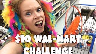 FOLLOW ME AROUND! $10 WAL-MART CHALLENGE! by GRAV3YARDGIRL