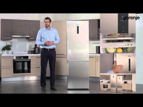 Predstavitev tehnologije uporabljene v GORENJE NRK6193TX hladilniku z zamrzovalnikom