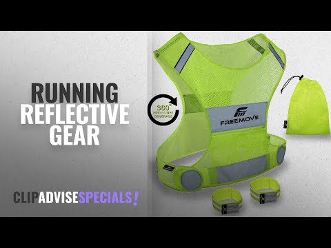 10 Best Running Reflective Gear : No.1 Reflective Vest Running Gear   YOUR BEST CHOICE TO STAY