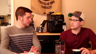 IT'S HERE! Check Out Episode 1 of Espressos with Entrepreneurs!