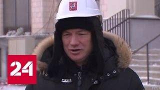 """Основная часть строительных работ на стадионе """"Лужники"""" завершена"""
