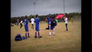 Mighty Bluebirds u10 boys win second place at the kick it 3v3 regionals!
