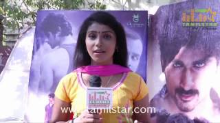 Sindhu at Patra Movie Team Interview