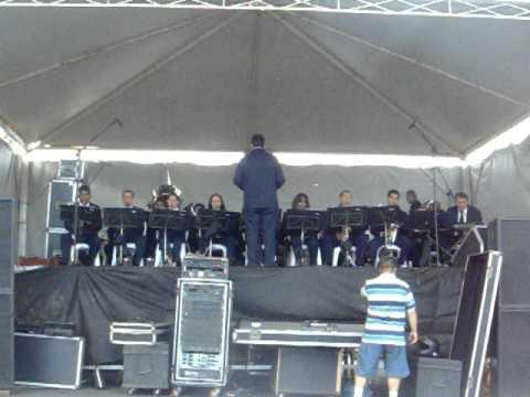 Apresentação da Banda de Música de Capinópolis em Araguari 093