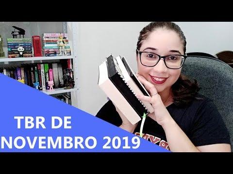 TBR DE NOVEMBRO 2019 ? | Biblioteca da Rô