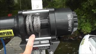 DIY - Cheap Motorized Boat Lift