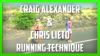 Craig Alexander & Chris Lieto - Running Technique Analysis by Kinetic Revolution