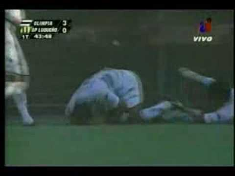 Goles de Édison Giménez en Paraguay.