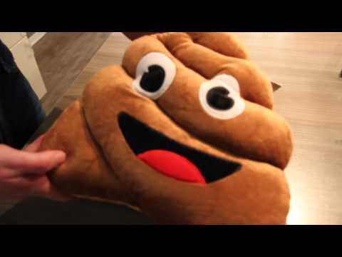 Plüschkissen - Pile of Poo