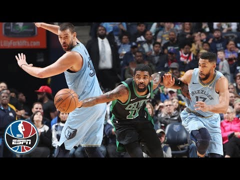 Video: Kyrie Irving's double-double fuels Celtics' comeback win vs. Grizzlies   NBA Highlights