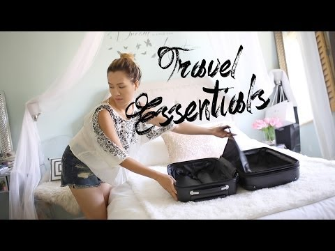 HOW TO Travel Light | Packing Essentials | ANN LE