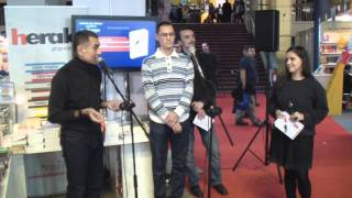 "Lansarea cartii ""Chan: Inima Trezirii"" la GAUDEAMUS 2014"