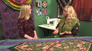 Quilters Newsletter TV: Making a World of Difference - eQuilter's Charity Program