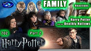 Harry Potter 7 Part 2 | The Deathly Hallows | FAMILY Reactions | Fair Use | 8