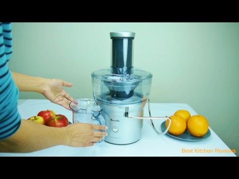 Breville BJE200XL Juicer - Compact Juice Fountain 700-Watt Juice Extractor Review