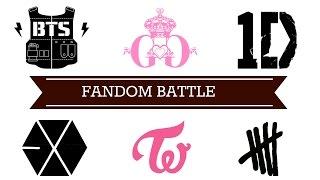 Download Lagu [FANDOM BATTLE] BTS vs TWICE vs 5SOS vs SNSD vs EXO vs 1D Mp3