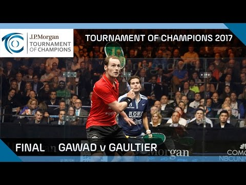 Squash: Gawad v Gaultier - Tournament of Champions 2017 Final Highlights