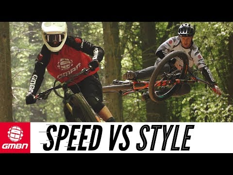 Speed Vs Style | Which Type Of Mountain Biker Are You? (видео)