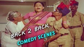 Back To Back Comedy Scenes   Telugu Best Comedy Scenes   2018 Telugu Latest Movies