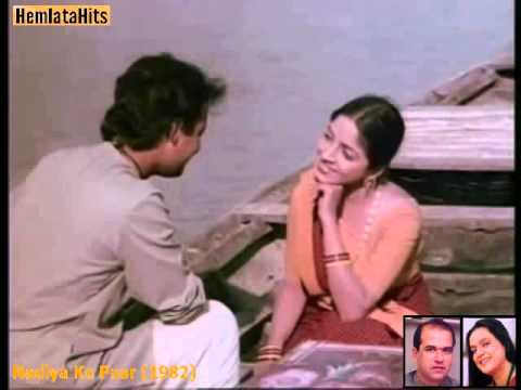 Video Gunja Re Chandan - Hemlata & Suresh Wadkar - Nadiya Ke Paar (1982) download in MP3, 3GP, MP4, WEBM, AVI, FLV January 2017