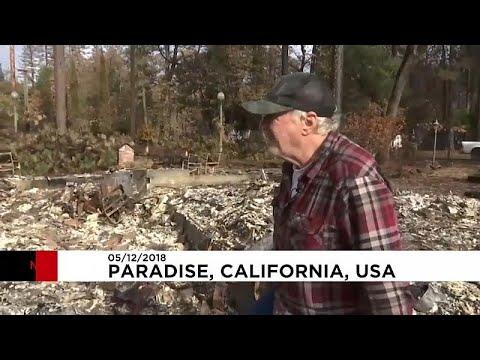 Οι κάτοικοι της Καλιφόρνια επιστρέφουν στα σπίτια τους…