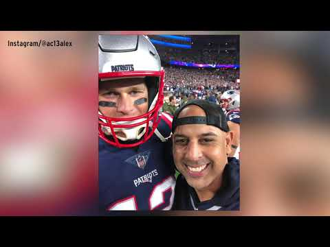 Video: Alex Cora ecstatic about taking selfie with Tom Brady at Patriots game