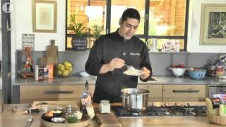 ארוחה משפחתית: ריזוטו פתיתים עם דלעת וגבינת מימולט – השף יוסי שטרית