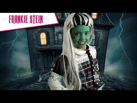 Halloween schmink tutorial Frankie Stein van Monster High!