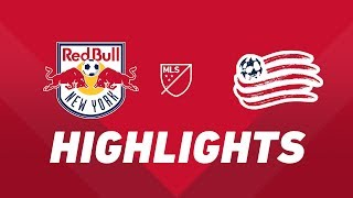 New York Red Bulls vs. New England Revolution | HIGHLIGHTS - August 17, 2019 by Major League Soccer