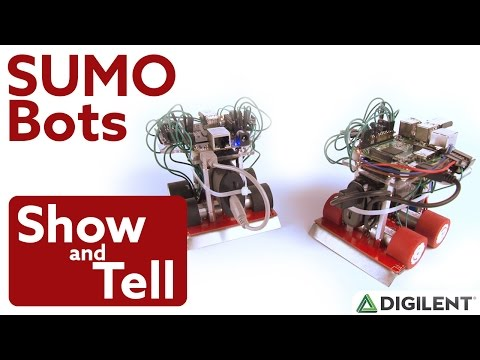 Show and Tell Ep. 16 - LabVIEW SUMO Bots