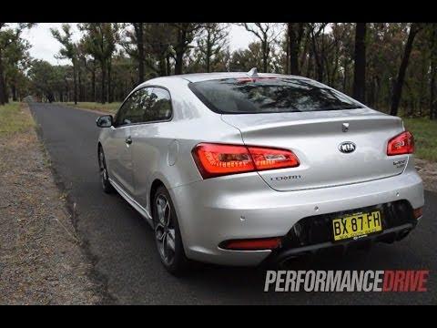 2014 Kia Cerato Koup Turbo 0-100km/h and engine sound