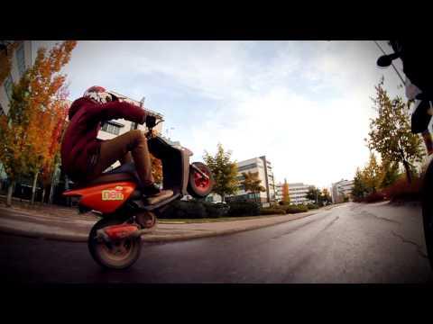Yamaha BWS Wheelie