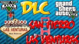 GTA 5 DLC Las Venturas, San Fierro (Grand Theft Auto V)