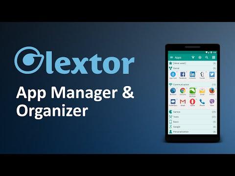 Video of Glextor App Mgr & Organizer