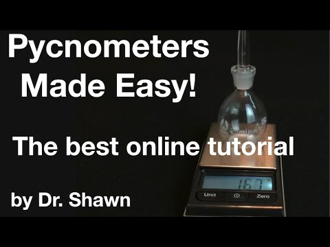 Pycnometers-The Best Way To Measure Density