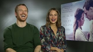 Nonton The Light Between Oceans: Michael Fassbender explains getting into character with Alicia Vikander Film Subtitle Indonesia Streaming Movie Download