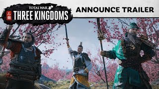 Total War: THREE KINGDOMS - Announcement Cinematic [PEGI UK]