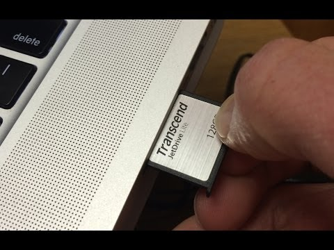 Transcend Jet Drive Lite for Macbook Pro Retina and Macbook Air - Storage Expansion Card Review