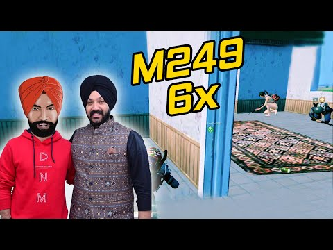 गन्दी वाली भसड़ in SEVERNY || M249 + 6x With Groza || PUBG MOBILE HIGHLIGHTS