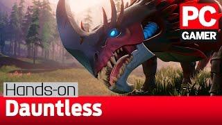 Игровой процесс Dauntless с PAX South