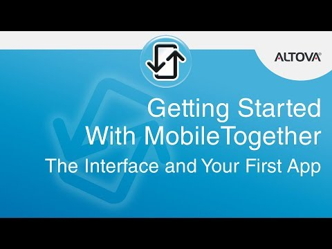 Building Your First Cross Platform Mobile App with MobileTogether