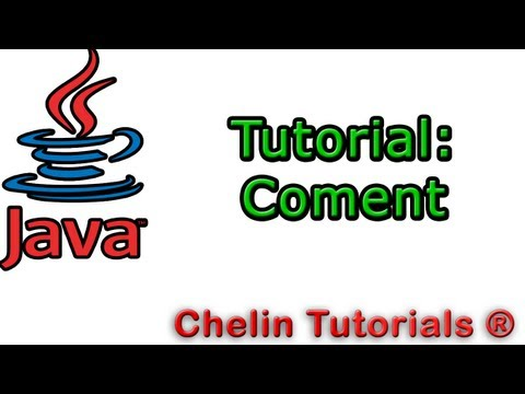 Tutorial Programacion Java 5 : Comentarios