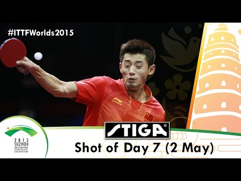 Qoros 2015 World Championships Shot of the Day 7 presented by Stiga