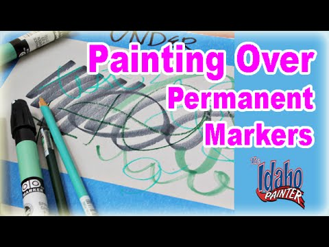 idaho painters - How to seal a permanent marker from bleeding through your interior paint. Don't make the mistake and use shellac based primers to block permanent markers as ...