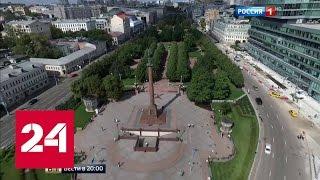 Тверская, Садовое кольцо, Хитровка: до и после