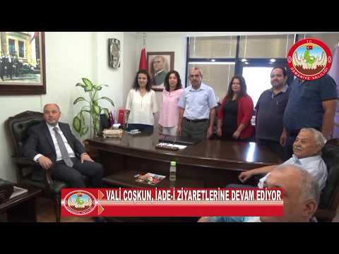Osmaniye valisi, iade-i ziyaretlere devam ediyor